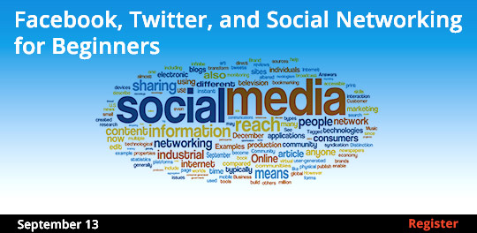 Facebook, Twitter, and Social Networking for Beginners 9/13