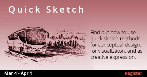 Quick Sketch 3/4- 4/1