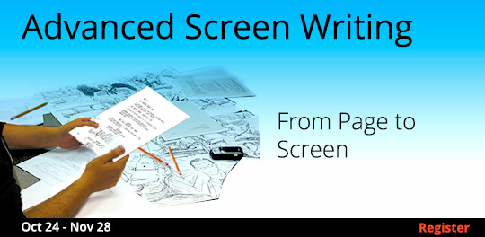 Advanced Screenwriting: From Page to Screen, 10/24/2017 - 11/28/2017