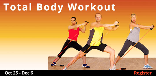 Total Body Workout, 10/25/2017 - 12/6/2017