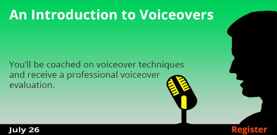 Introduction to Voiceovers 7/26/2017