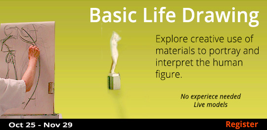 Basic Life Drawing  10/25-11/29