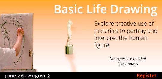 Basic Life Drawing 6/28-8/2