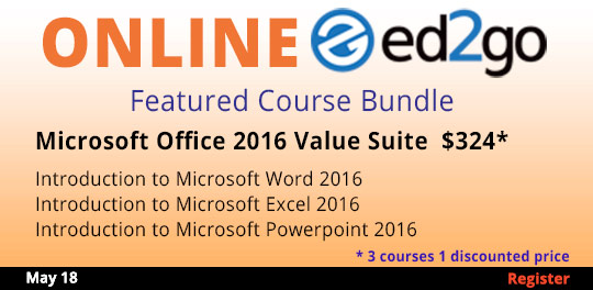 Microsoft Office 2016 Series 3 for 1 discount
