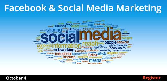 Facebook & Social Media Marketing 10/4