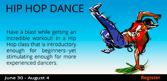 Hip-Hop Dance 6/30-8/4