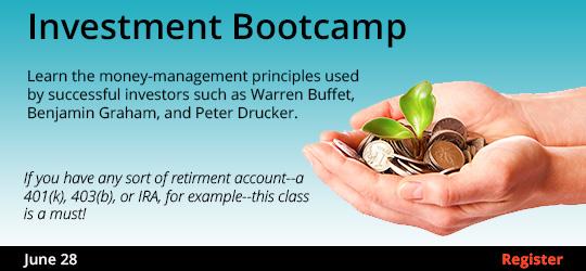 Investment Bootcampr 6/28