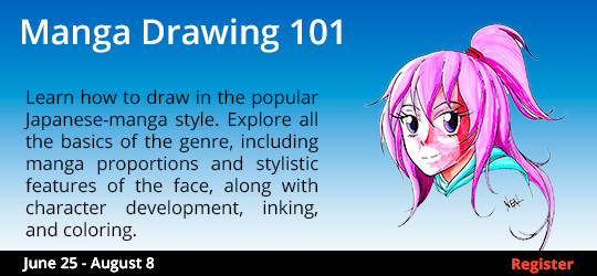 Introduction to Magna Drawing 6/25-8/6