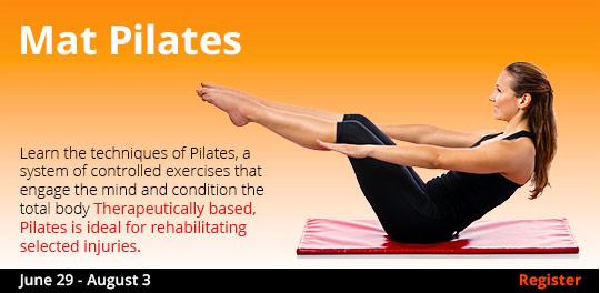 Mat Pilates 6/29-8/3