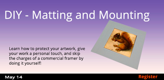 DIY - Matting and Mounting  5/14