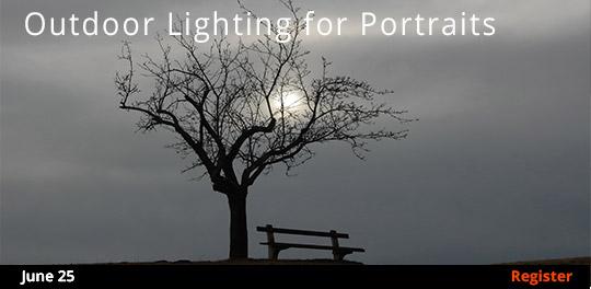 Outdoor Lighting for Portraits 6/25