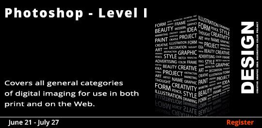 Adobe Photoshop (Level I) 6/21-7/26