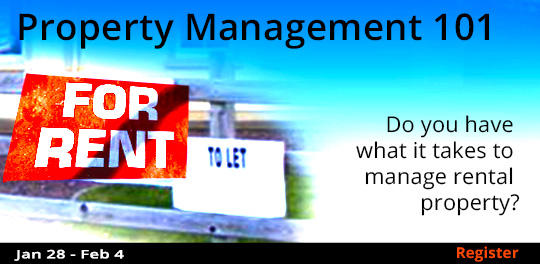 Property Management 101  1/28 - 2/4