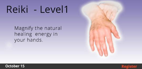 Reiki - Level I  10/15