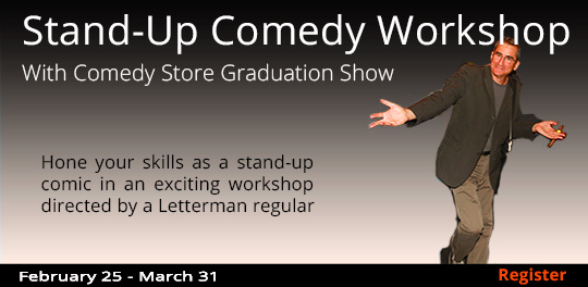 Stand-up Comedy Workshop 2/25-3/31