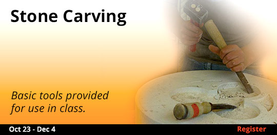 Stone Carving 10/23-12/4