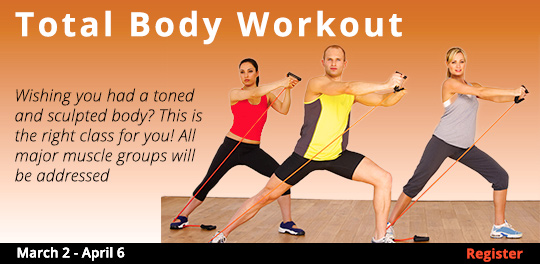 Total Body Workout 3/2-4/6