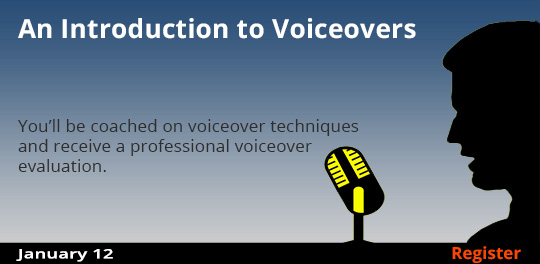 An Introduction to Voiceovers 1/12