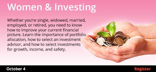 Women & Investing 10/4