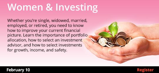 Women & Investing 2/10