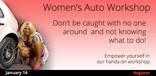 Women's Auto Workshop 1/14