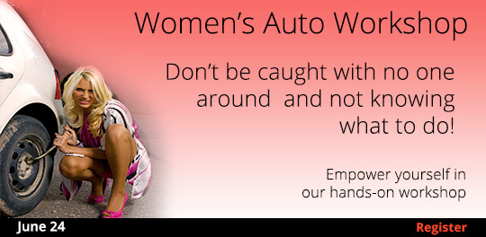 Women's Auto Workshop   6/24/2017