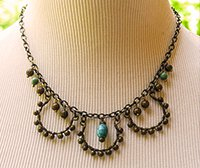 A necklace designed and crafted by Susan Ryza