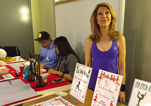 2016 Open House - Salsa and fitness instructor Jackline Daneshrad