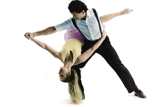 Roberta Wolin-Tupas with Daniel Jimerson