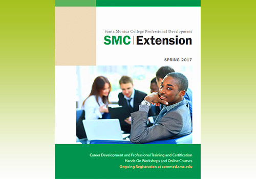 Extension catalog cover  Spring 2017