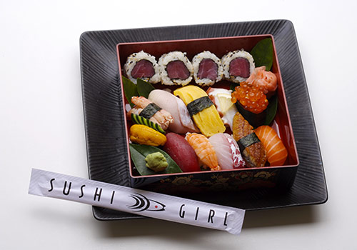 Sushi Girl-created bento