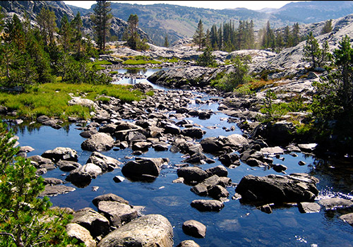 The Headwaters of the San Joaquin River-jcookfisher (Wikimedia)