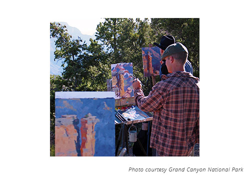 Offered for the first time is Plein Air Outdoor Watercolor Painting