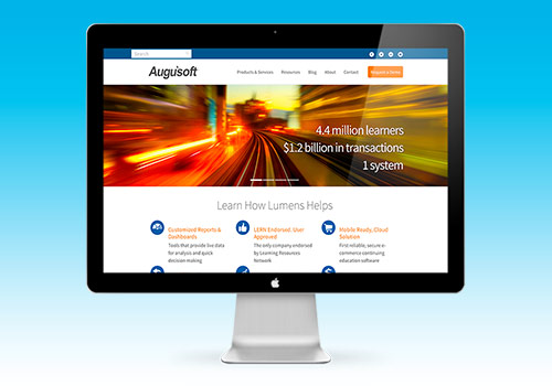 SMC Community Ed uses the Augusoft Lumens' platform for its website