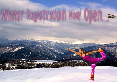 Register now for Winter classes