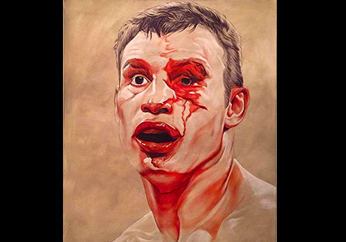 Scott's painting 'Boxer'