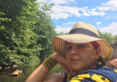 Reiki instructor Dr. Laura Luna