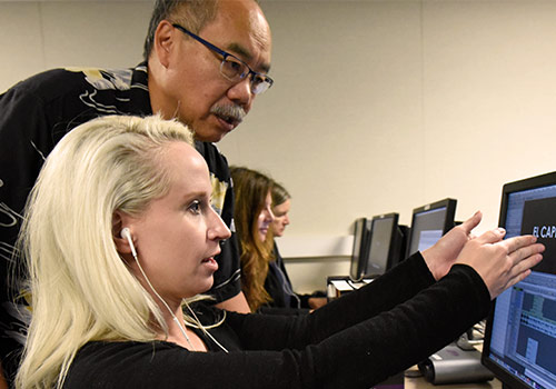 Instructor Walt Louie teaches Avid Media Composer