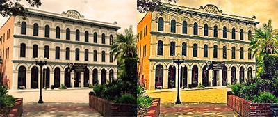 Pico House-before & after